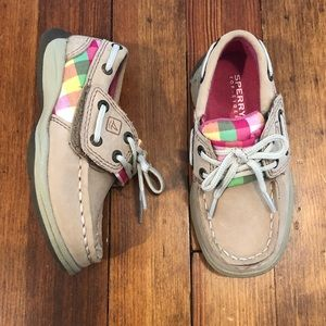 Toddler girls Sperry shoes